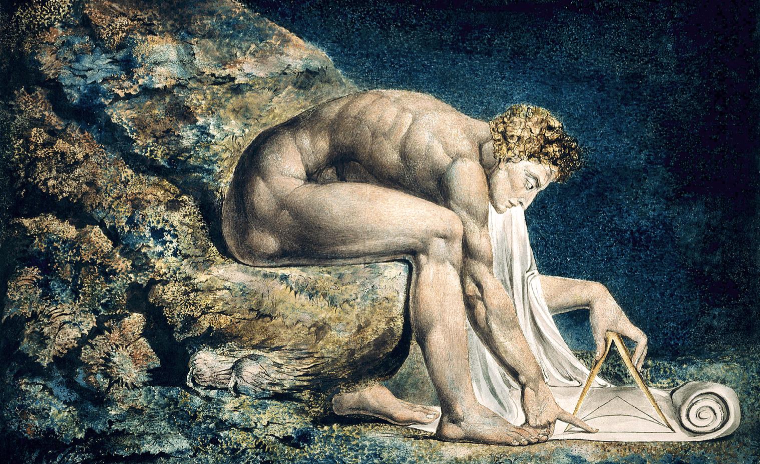 William Blake, Newton, 1795