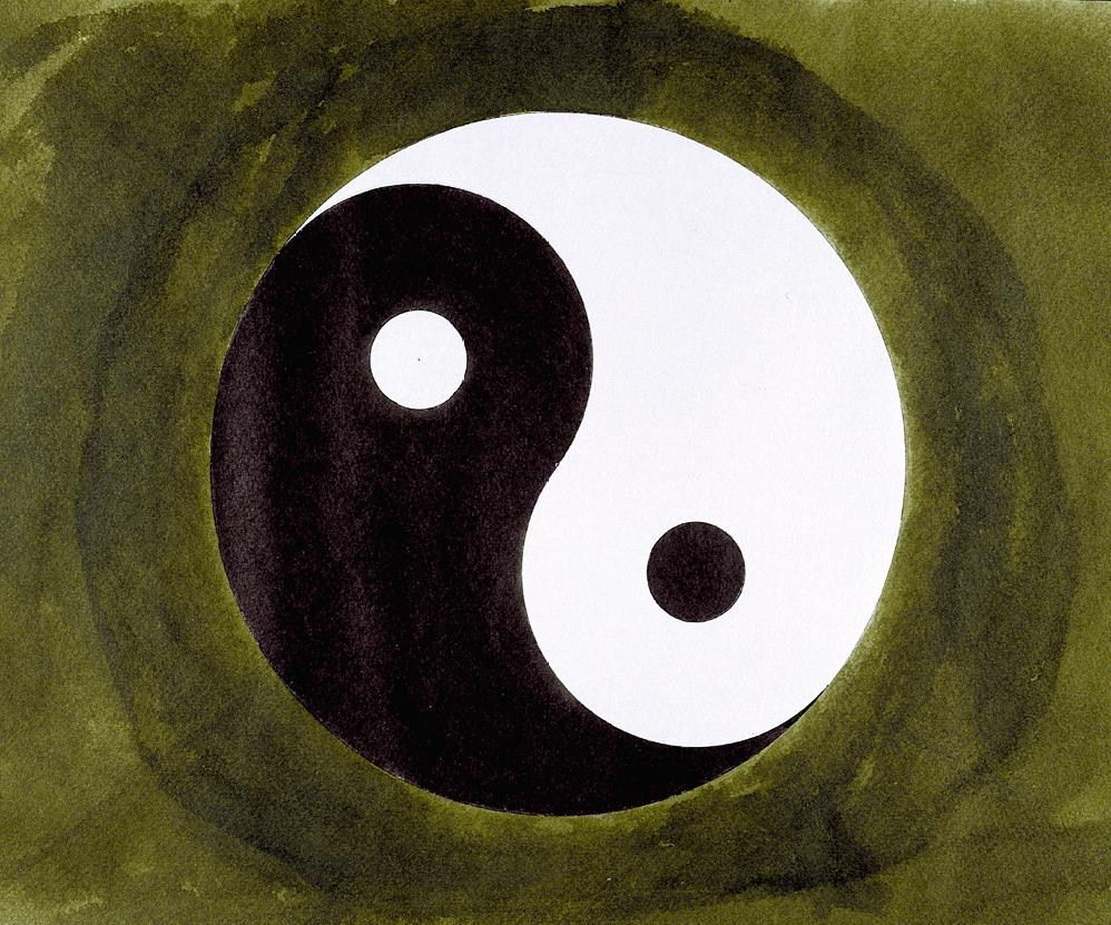 Katrin Idris, Yin + Yang II, 1998