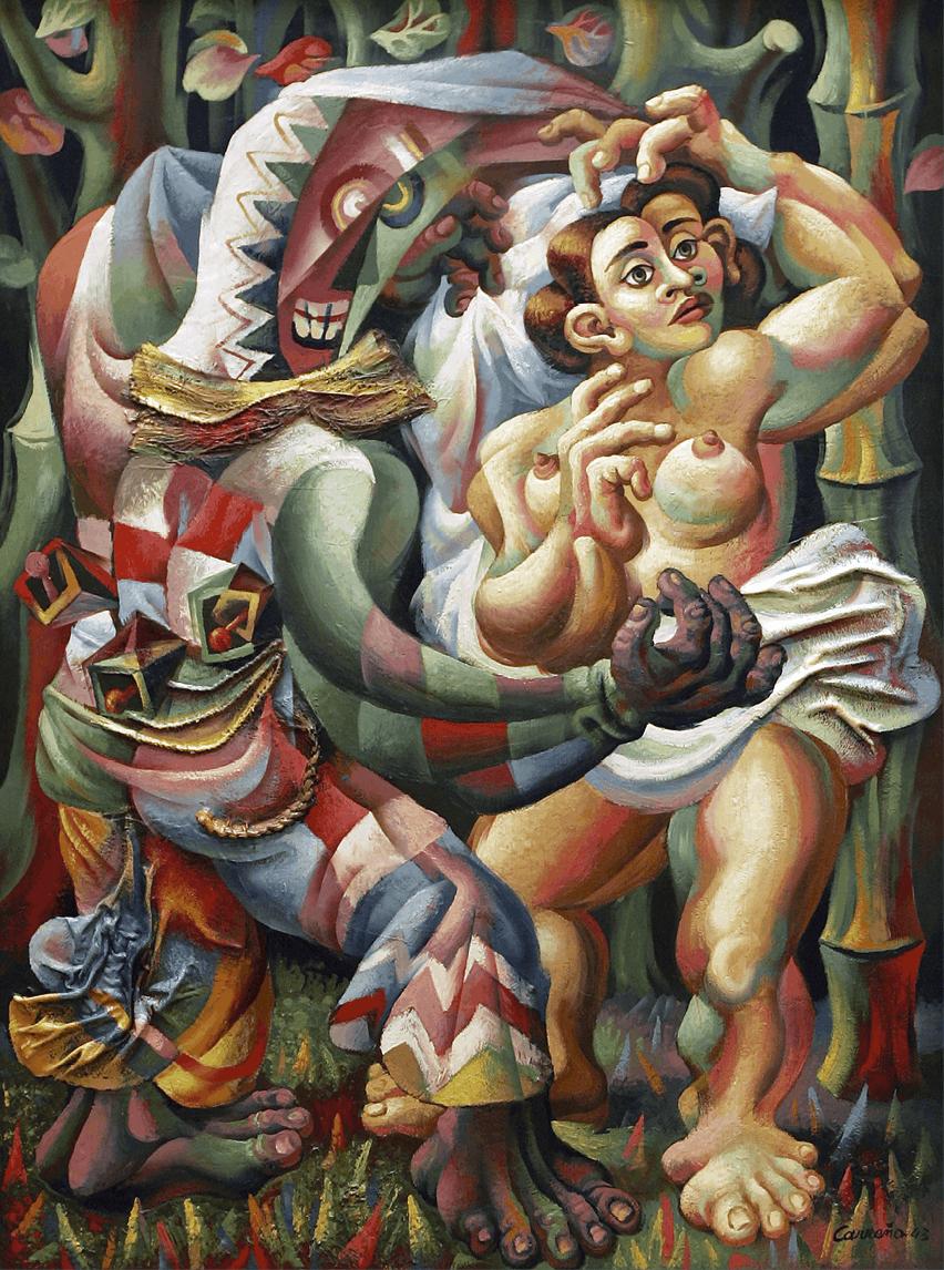 Mario Carreño, Danza afrocubana, 1943.