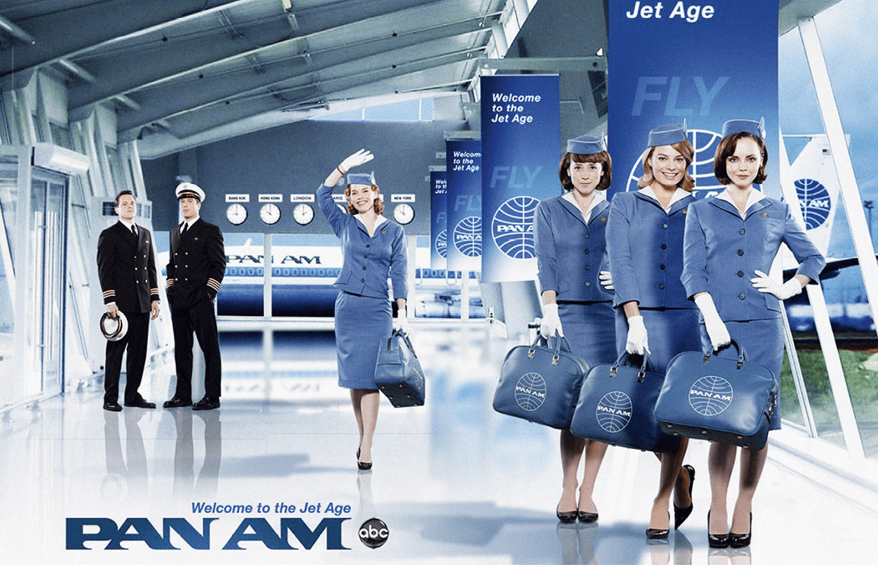 Promotional picture for Pan Am, by Jack Orman, 2011