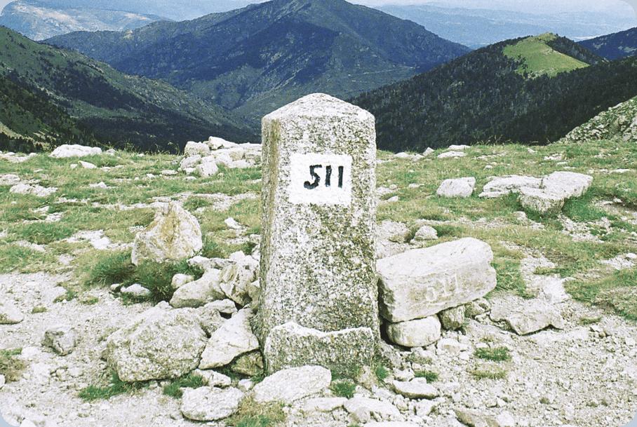 Borne-frontière n° 511