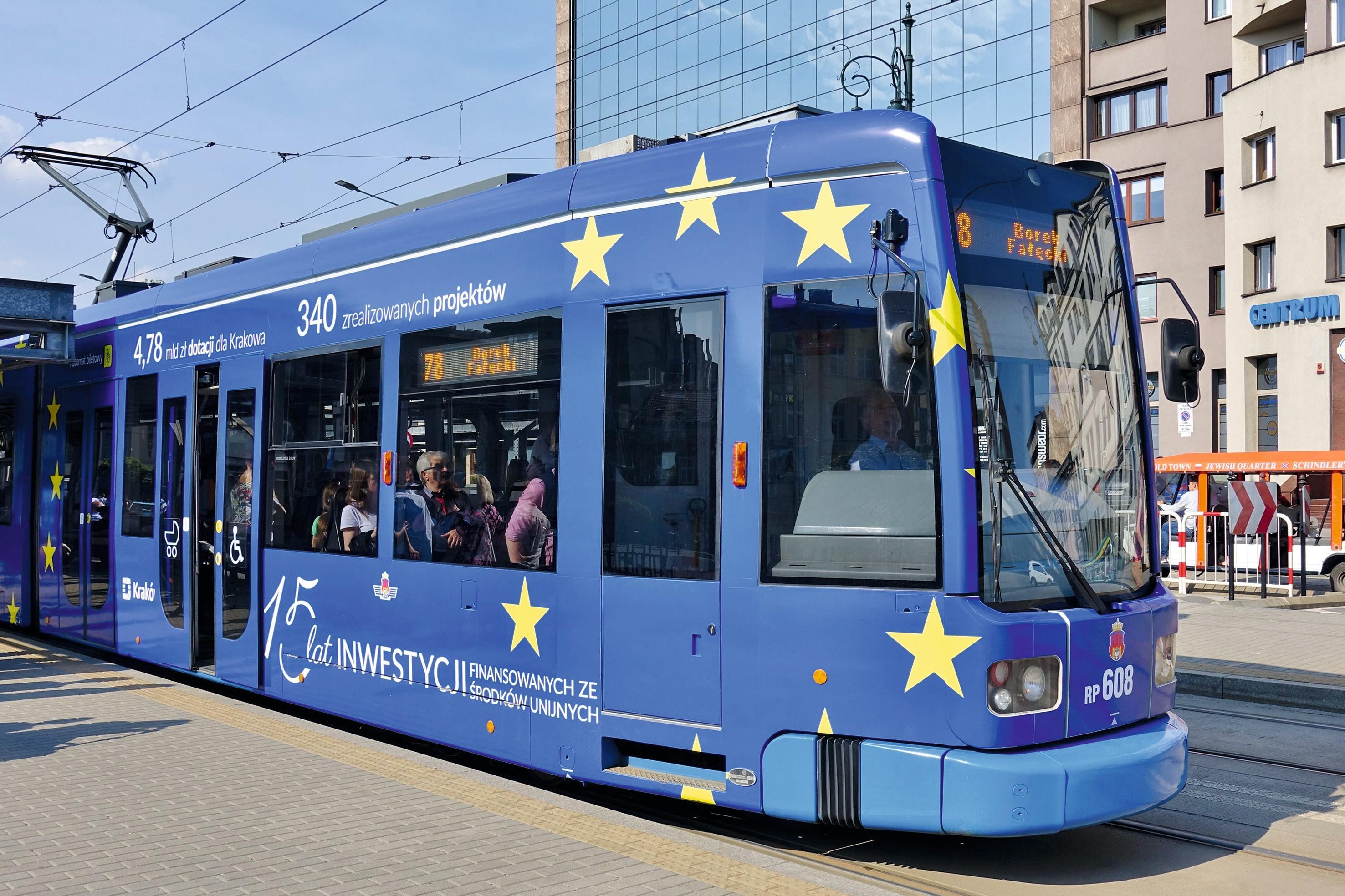 Tram Cracovie