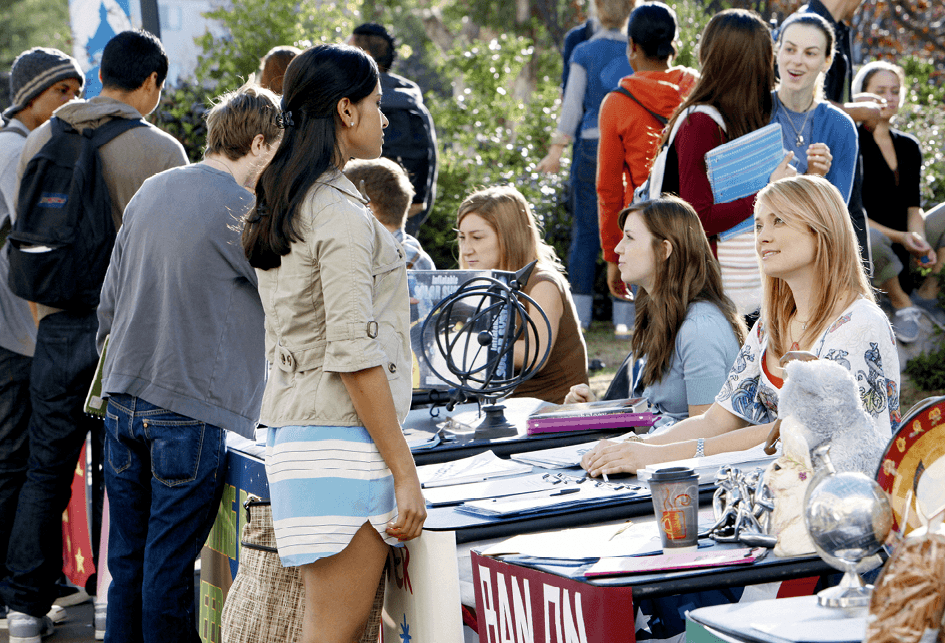 Cyprus-Rhodes campus in ABC Family TV series Greek