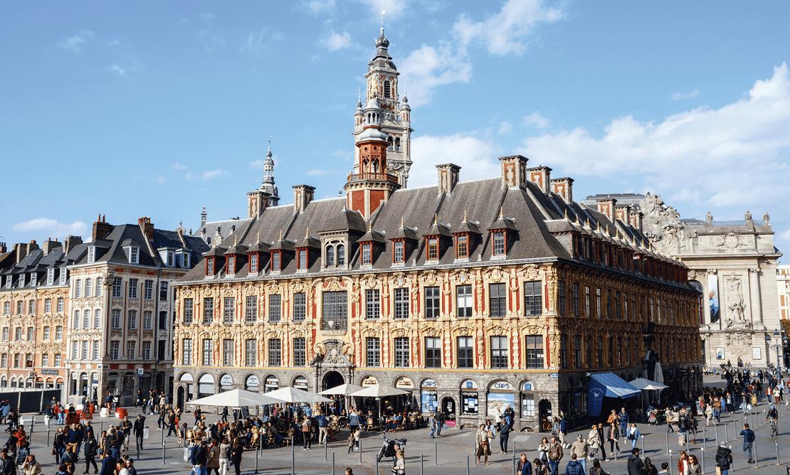 Place du Général-de-Gaulle, Lille.