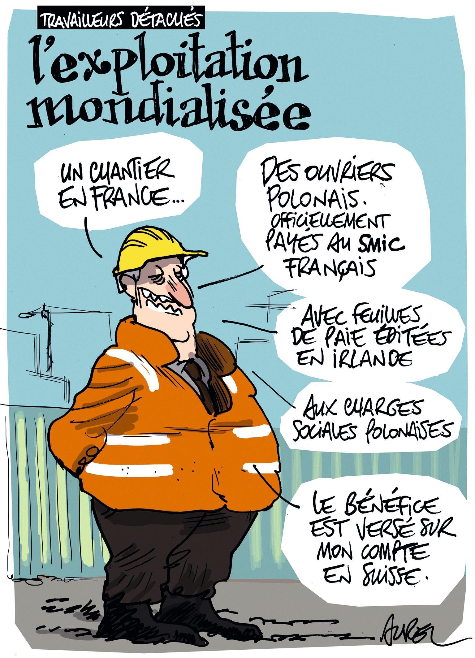 Caricature Aurel