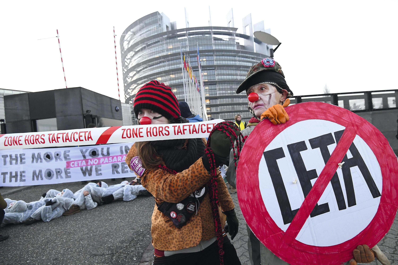 Manifestation Parlement européen Strasbourg 2017