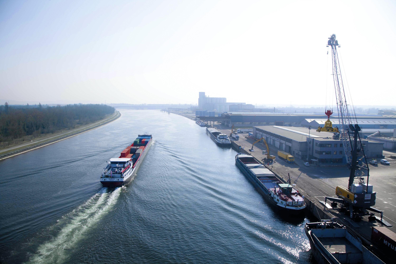 Les ports Mulhouse-Rhin