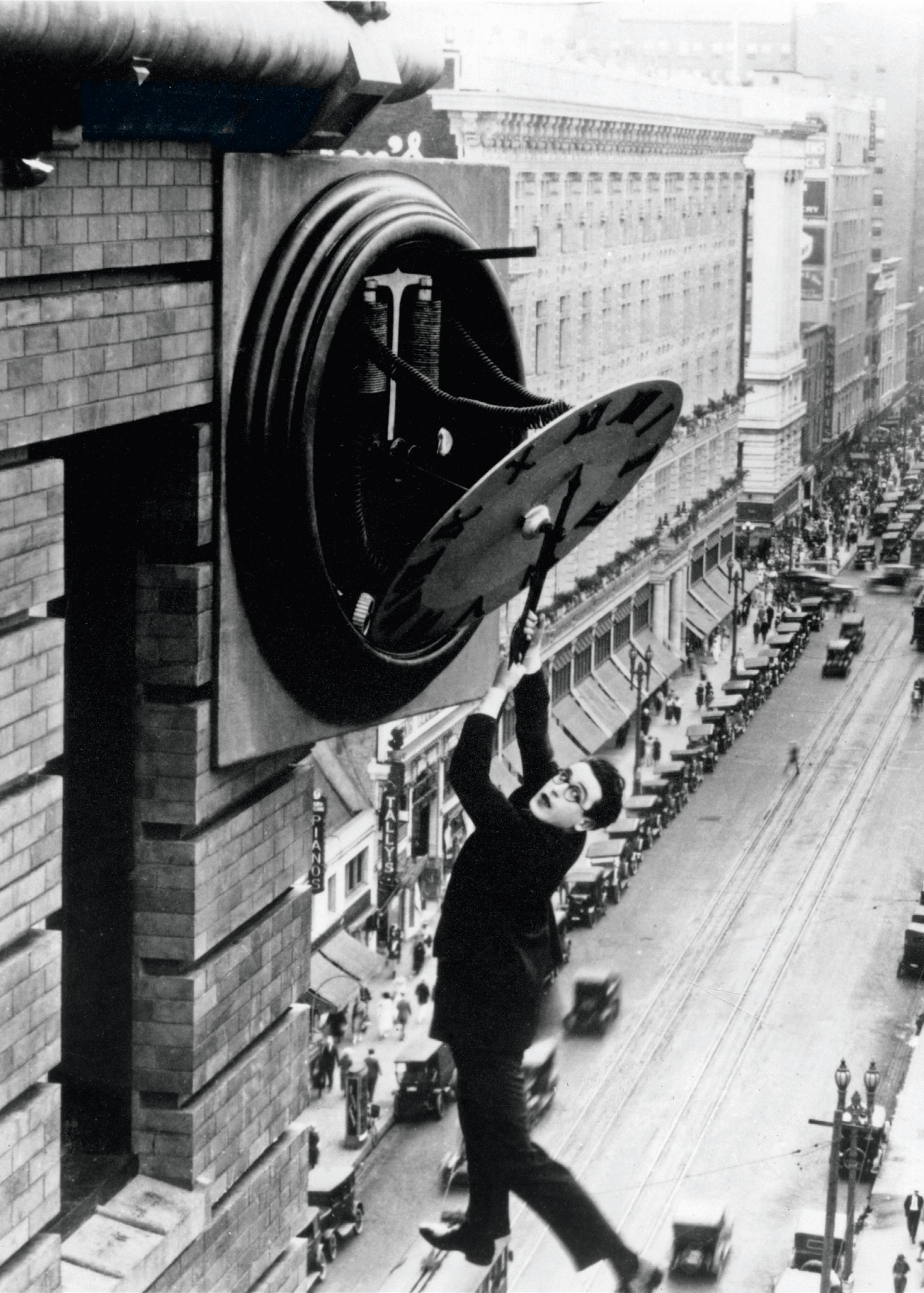 film Safety Last!, réalisé par Fred C. Newmeyer et Sam Taylor, 1923.