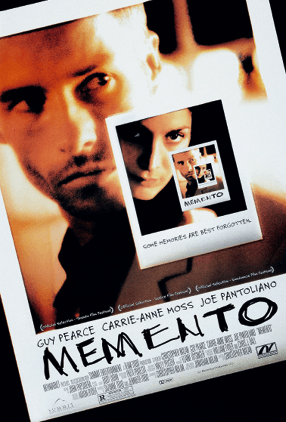 Christopher Nolan, Memento, 2000