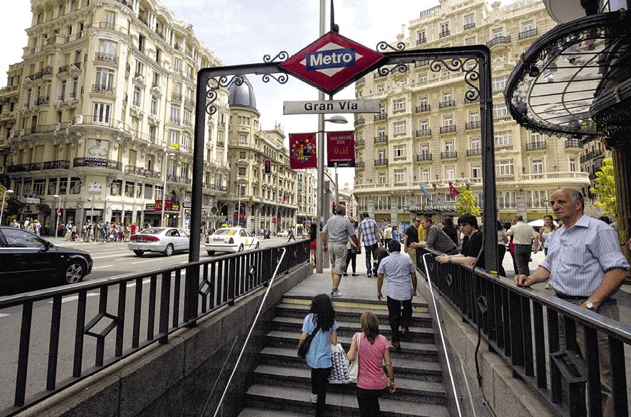 Estación de Metro Gran Vía de Madrid