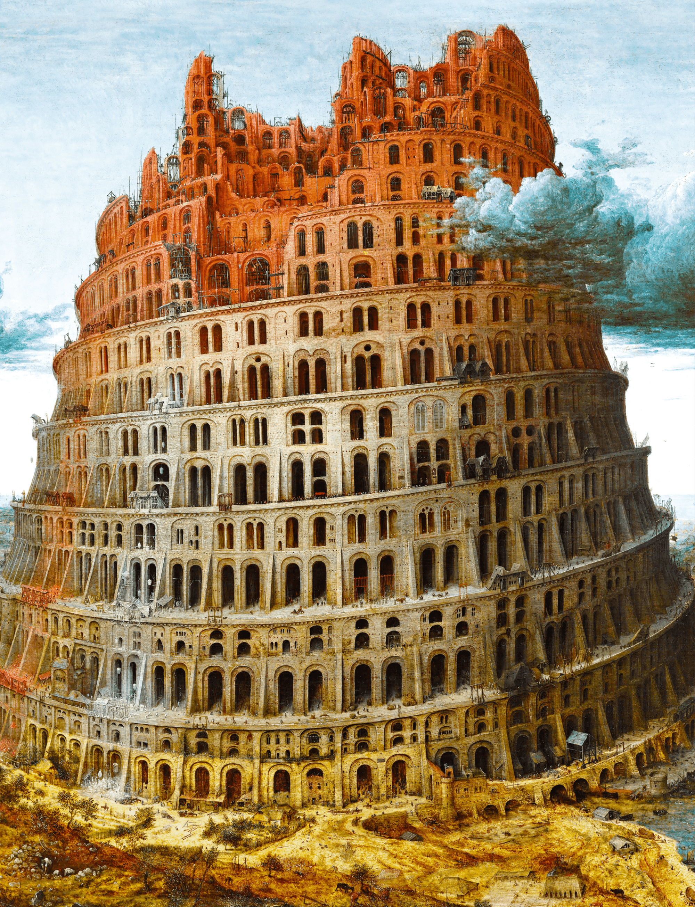 La Tour de Babel par Pieter Brueghel l'Ancien