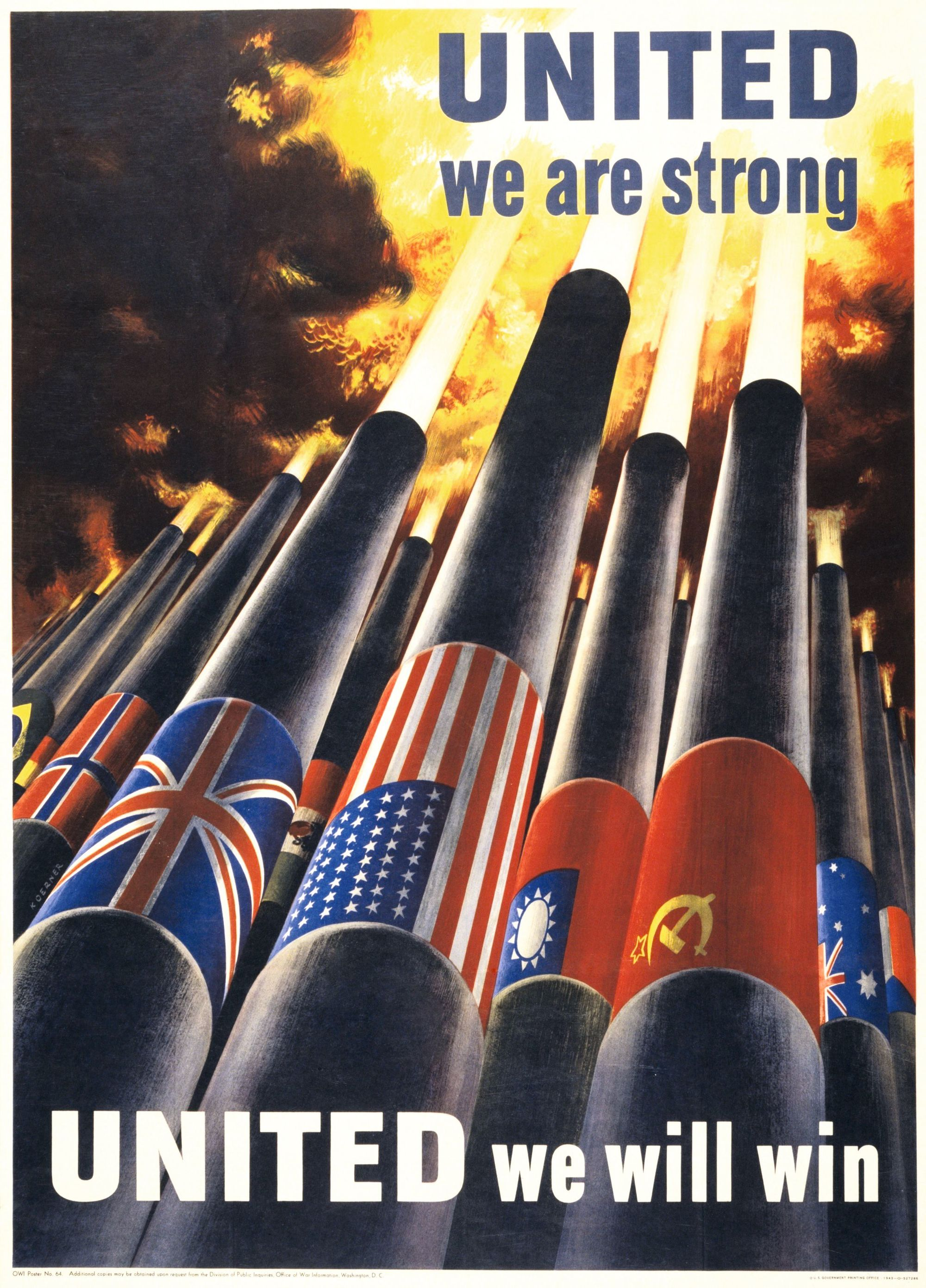 Contexte Chapitre 3 - United States are Strong affiche