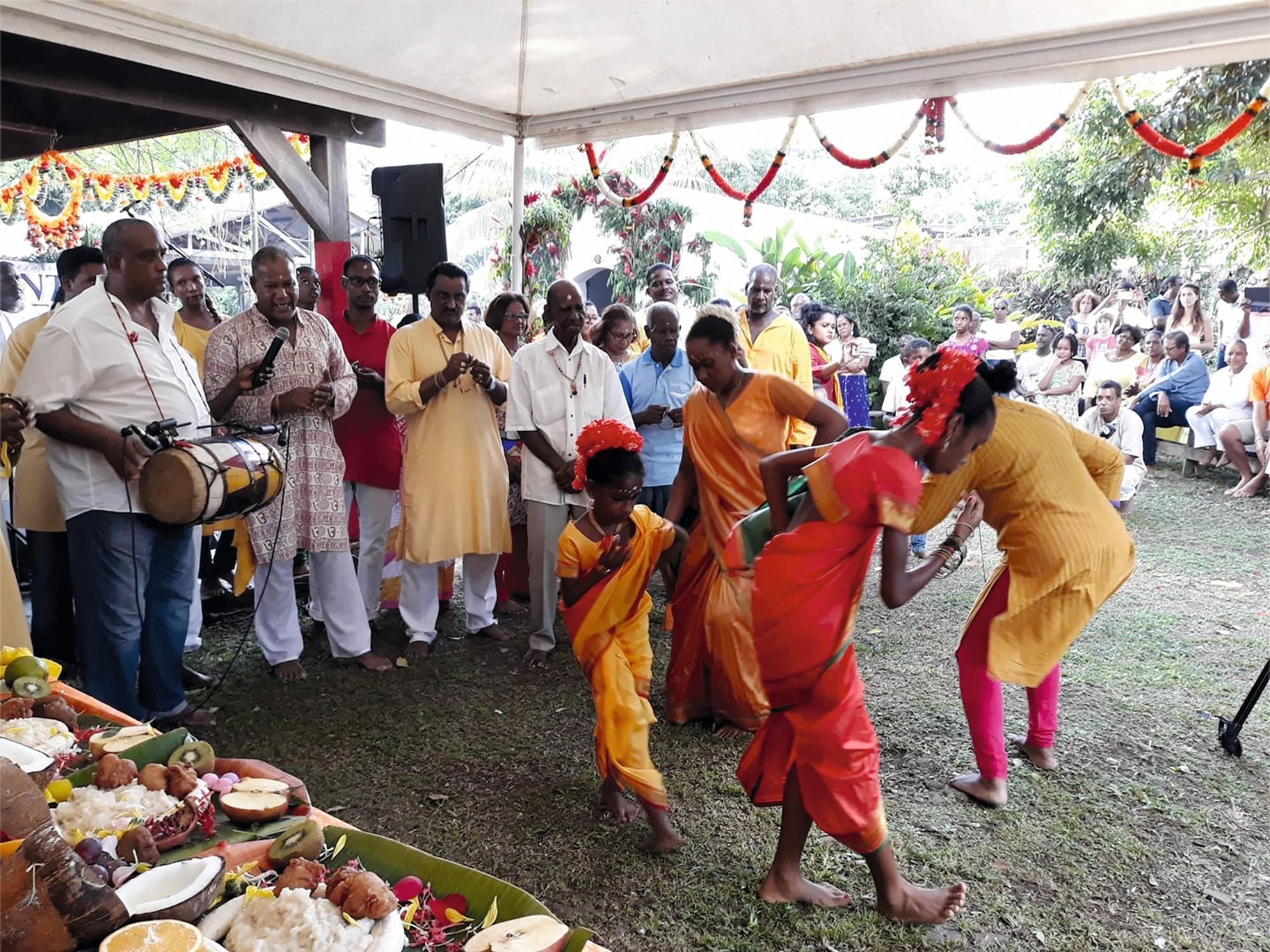 Une fête hindouiste en Martinique