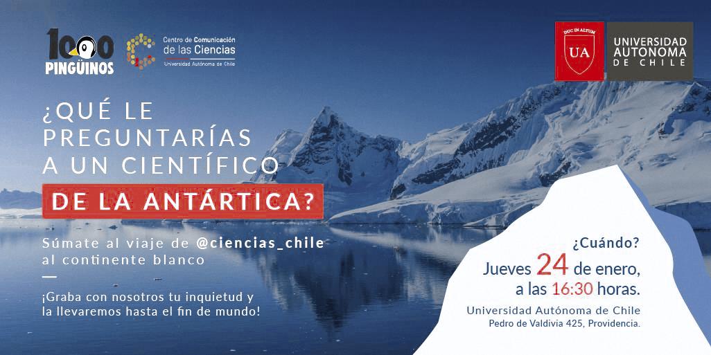 ¿Qué le preguntarías a un científico de la Antártica?, CNID, 2019