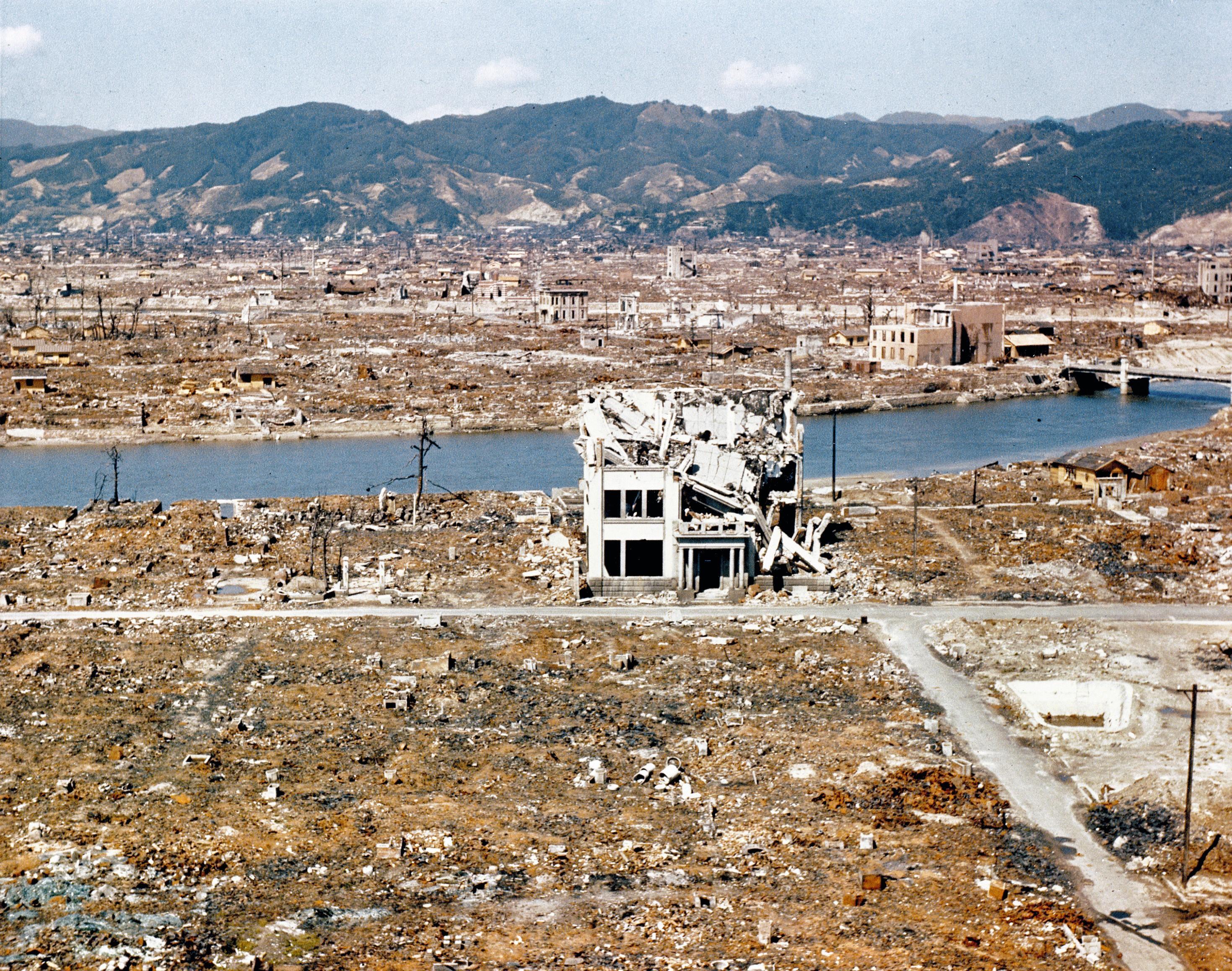 Degats Hiroshima