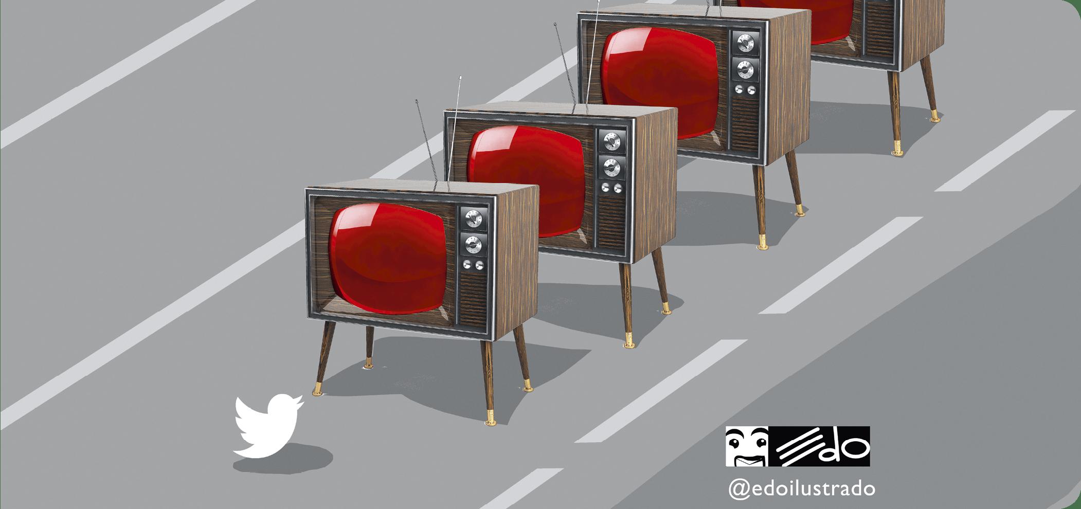 EDO ilustrado, Nuestro #Tiananmén #censura #Venezuela, 2018.