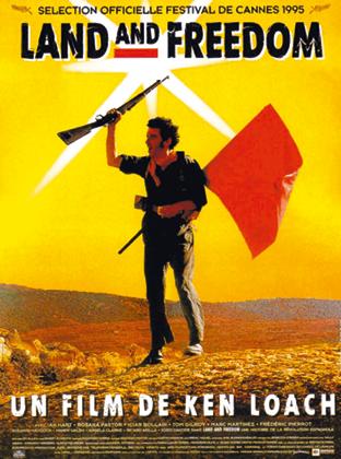 Affiche du film Land and Freedom de Ken Loach