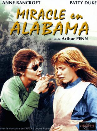 Affiche du film Miracle en Alabama d'Arthur Penn