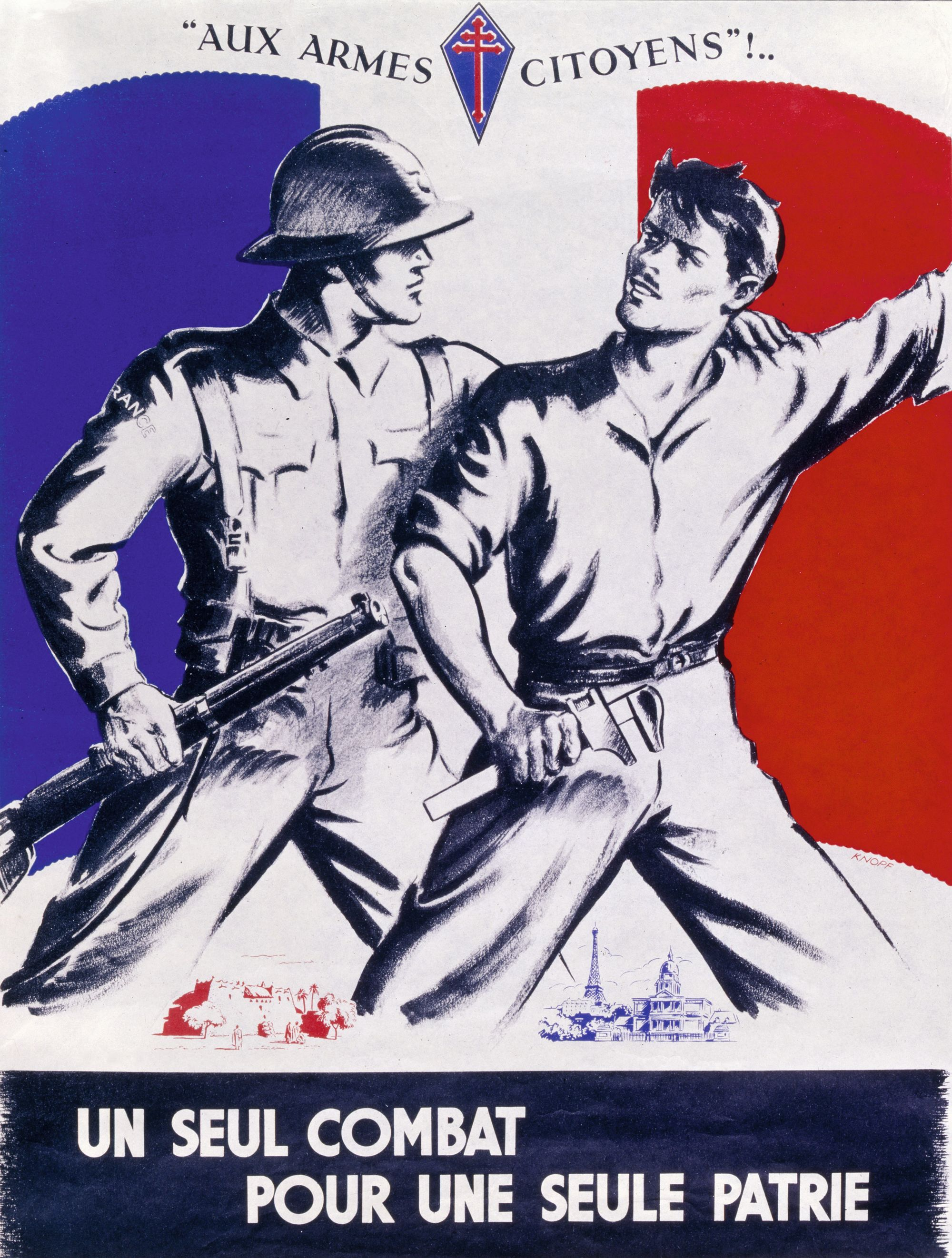 Dossier 4 Un Seul Combat Rallier la population