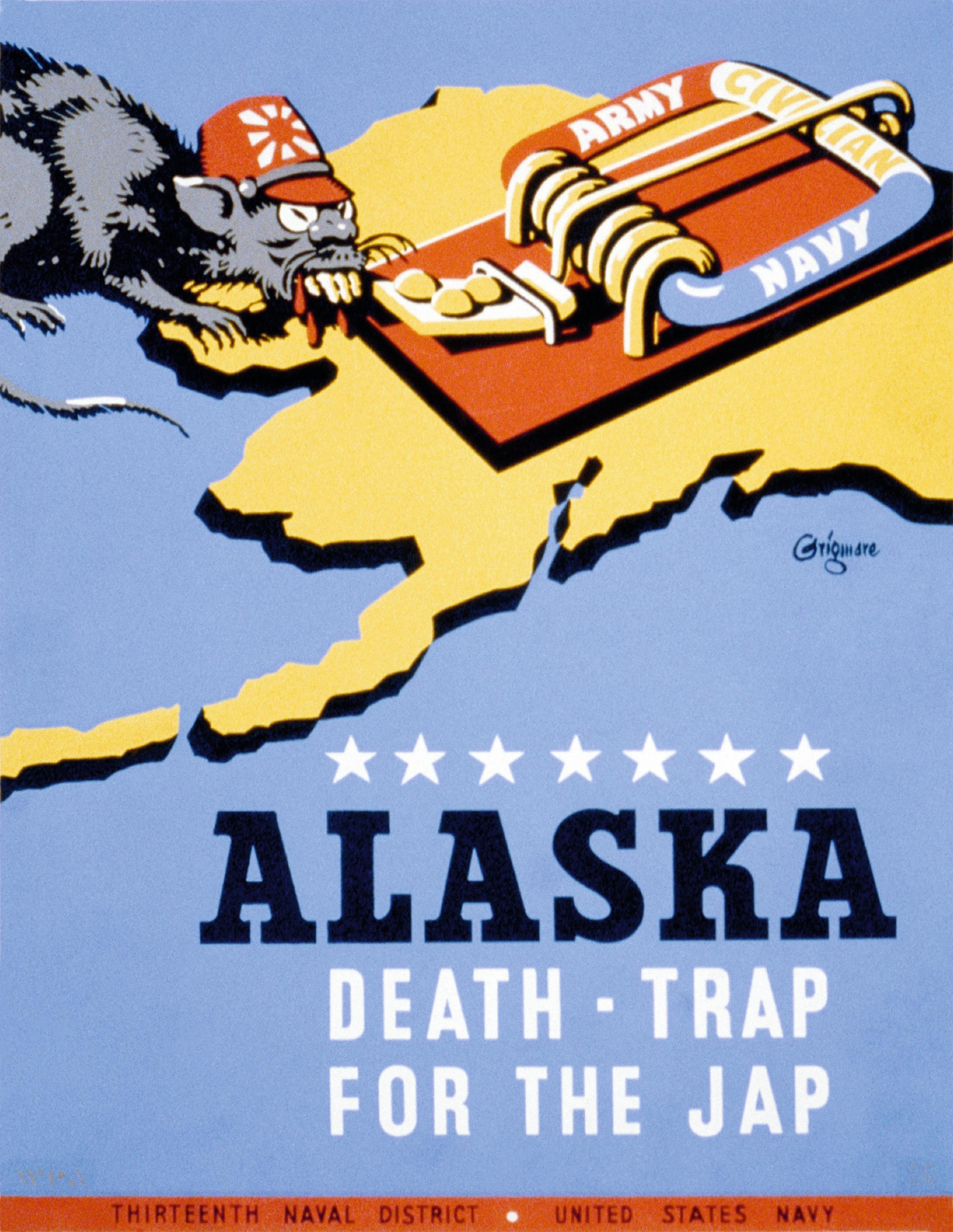 Affiche Alaska Death Trap