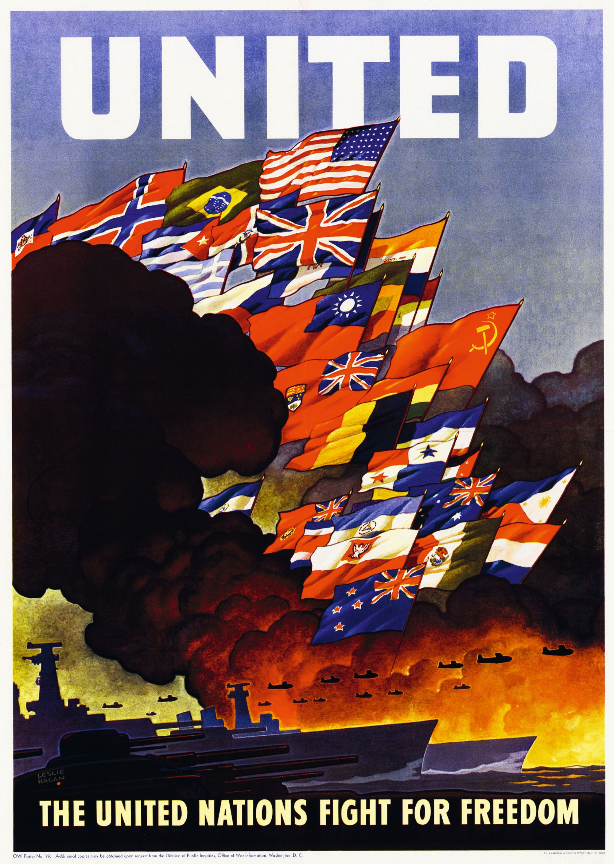 Affiche United Nations