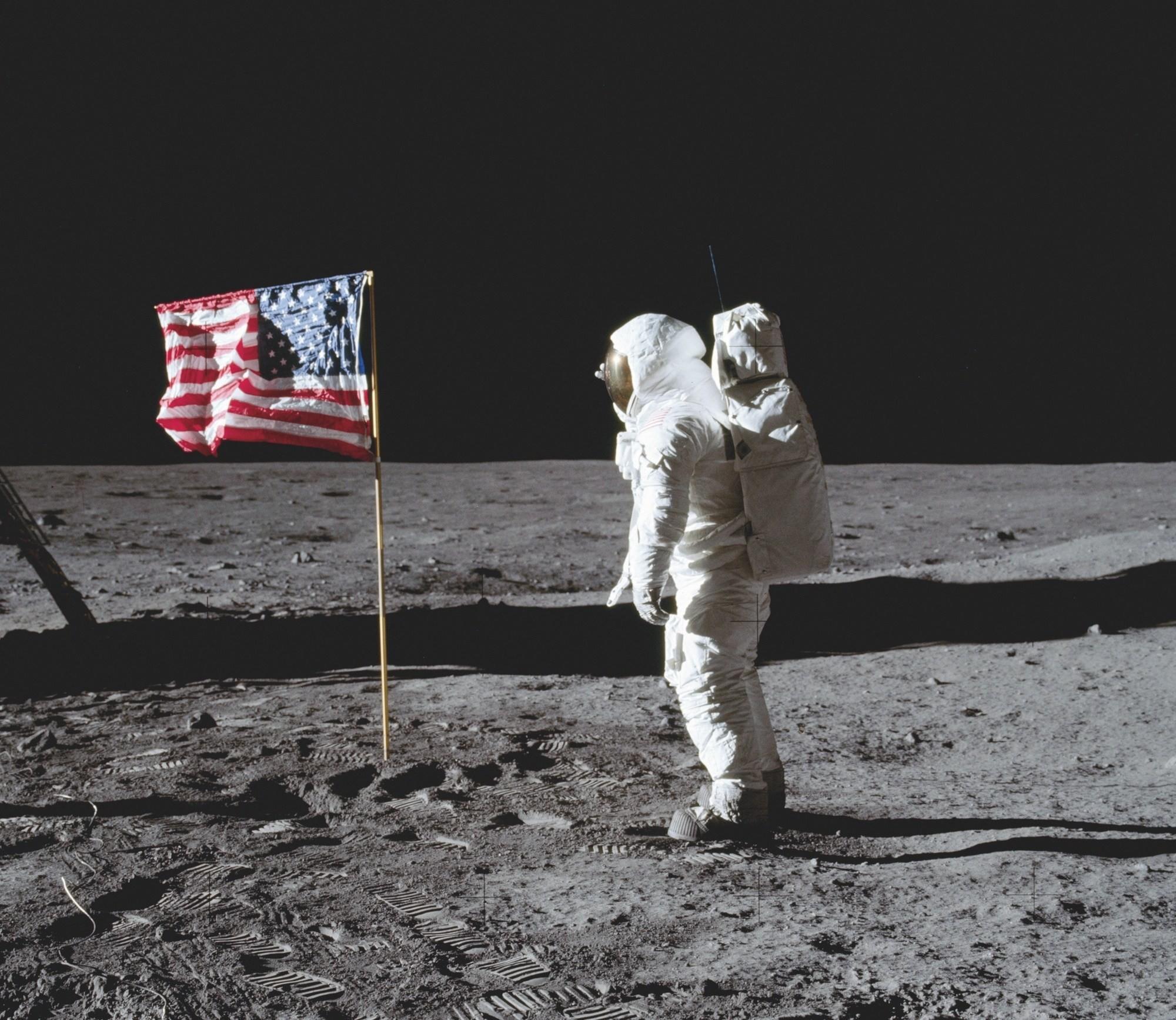 Le 21 juillet 1969 : les Américains sur la lune