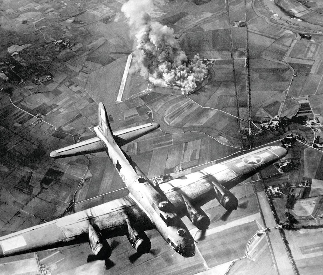 Photographie d'un bombardier.
