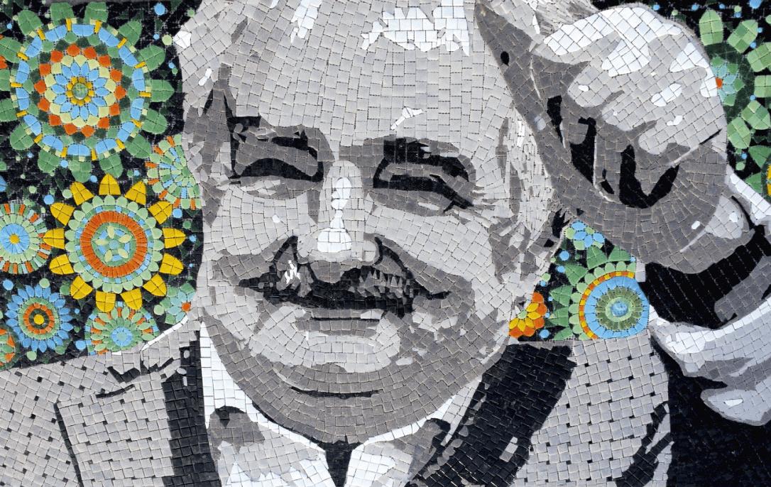 Mural homenaje a Pepe Mujica, 2015