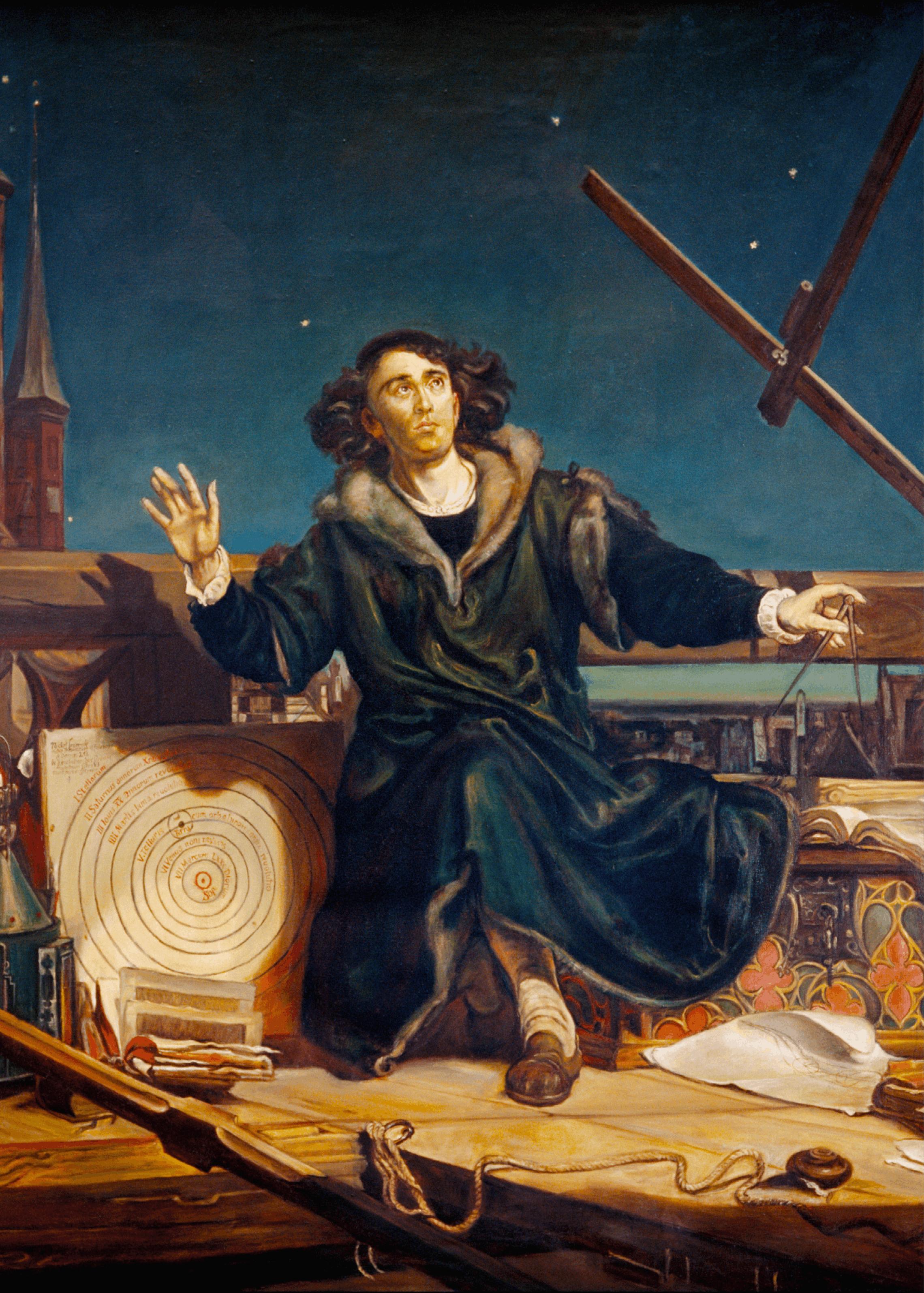 Jan Matejko, L'astronome Copernic ou conversations avec Dieu, 1873, huile sur toile