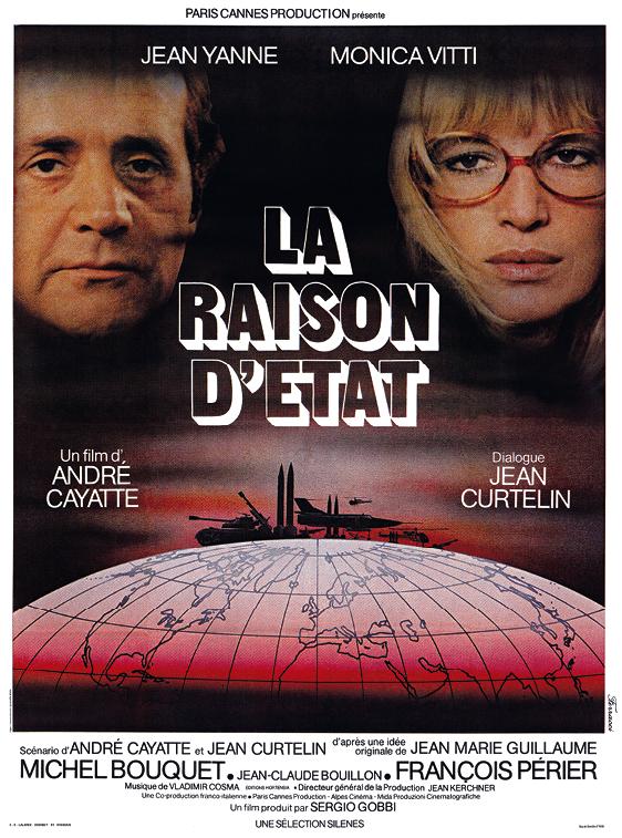 Affiche du film La Raison d'État d'Andé Cayatte