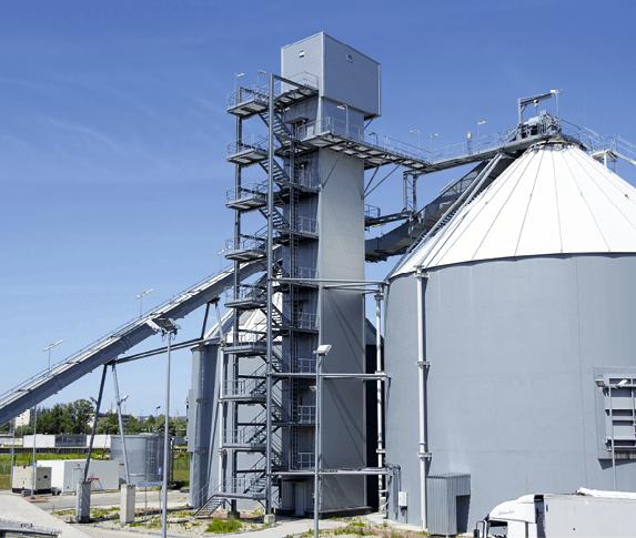 Usine de biomasse en Pologne