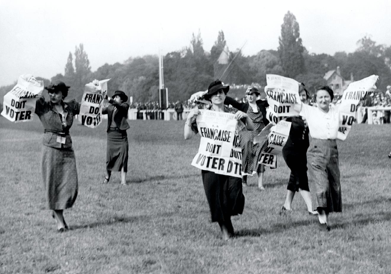La longue conquête du droit de vote des femmes