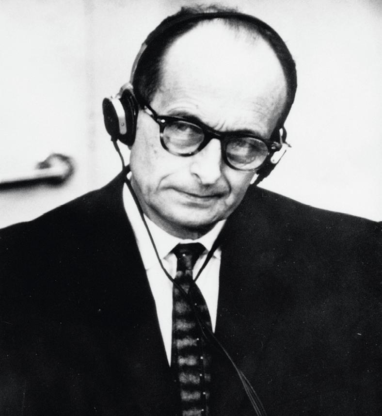 Adolph Eichmann pendant son proces