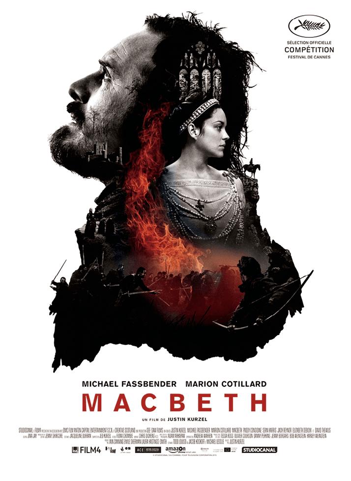 Macbeth, by Justin Kurzel, 2015.