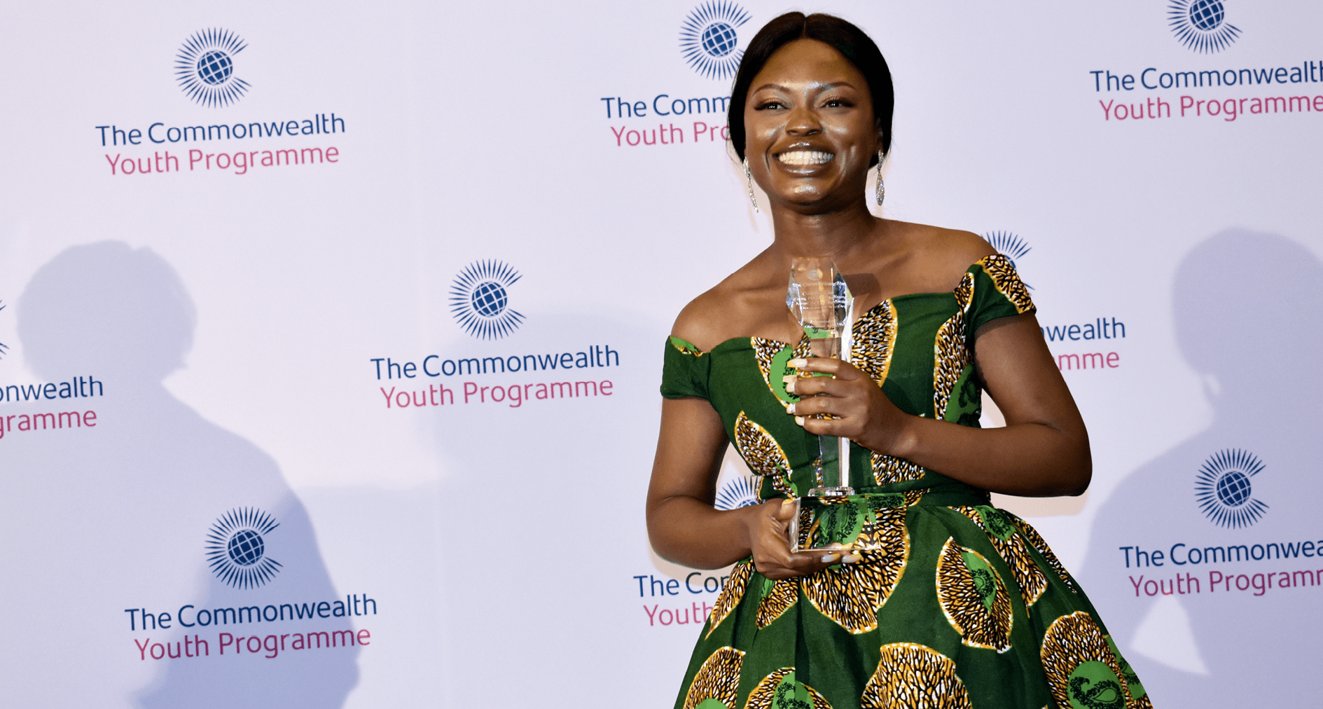 The 2019 Commonwealth Young Person of the Year, Oluwaseun Ayodeji Osowobi. She was born and raised in Nigeria and is the Executive Director of Stand to End Rape Initiative, a Not-for-Profit Organization fighting against sexual violence.