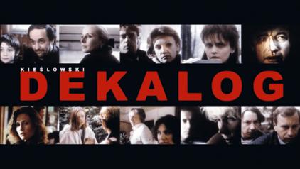 Affiche du film Le Décalogue de Krzysztof Kieslowski