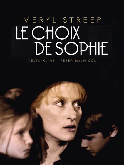 Affiche du film Le choix de Sophie de Alan Pakula