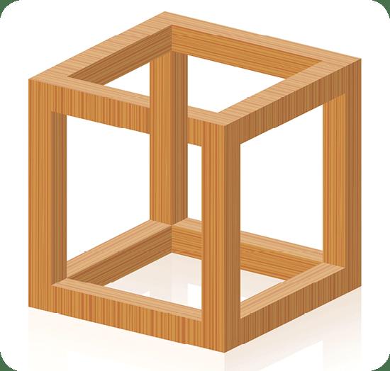Cube Escher