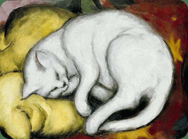 Franz Marc, Le chat blanc
