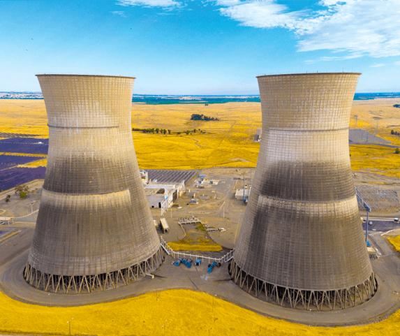 Centrale nucléaire démantelée