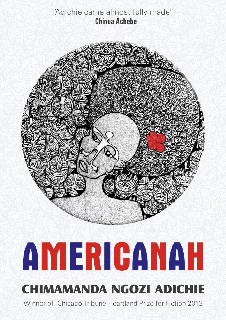 Americanah, Chimamanda Ngozi Adichie, 2013