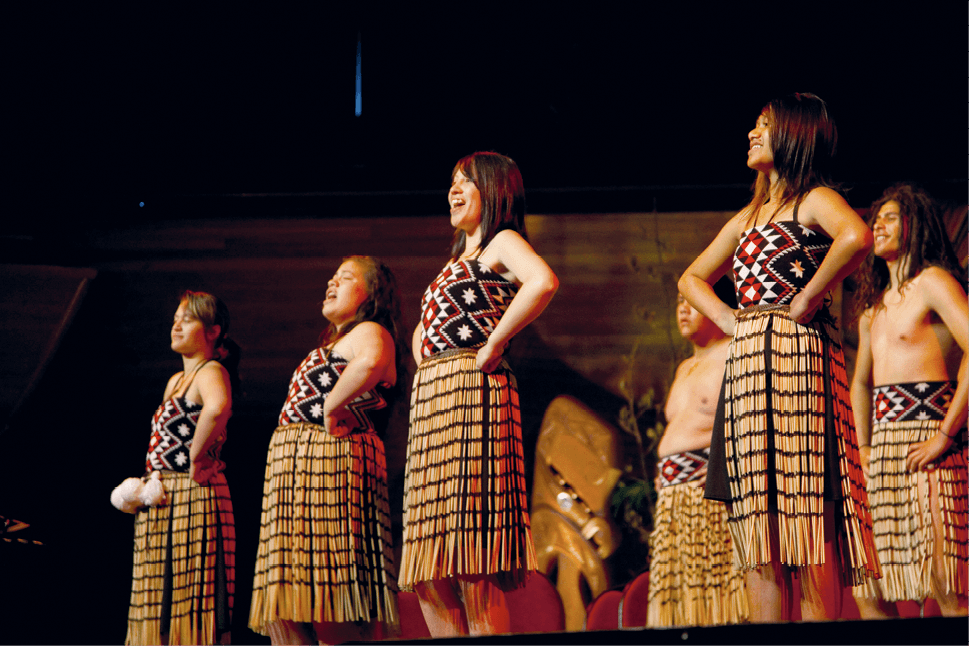Māori Welcoming ceremony, Wellington, New Zealand, 2011.
