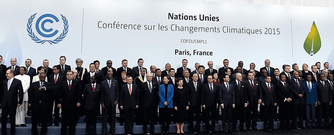 Réunion de la COP21