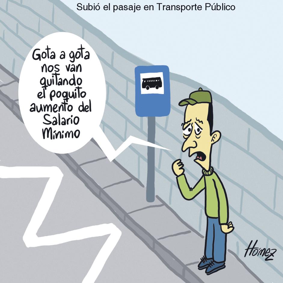 Juan Hómez, Subió el pasaje del transporte público en Colombia, 2015