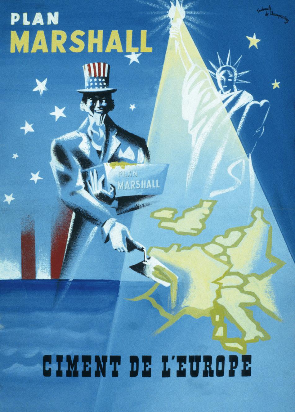 Le plan Marshall, symbole de prospérité et de liberté