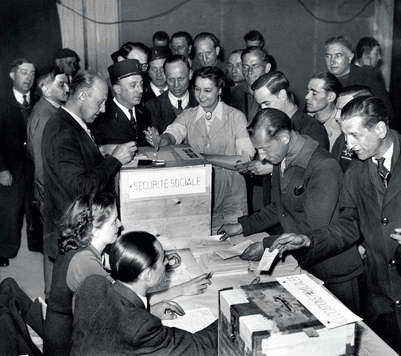 Photo des élections des administrateurs des caisses de la Sécurité sociale