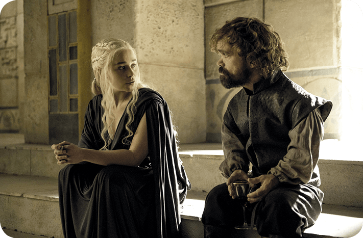 Game of Thrones, discussion entre Tyrion et Daenerys