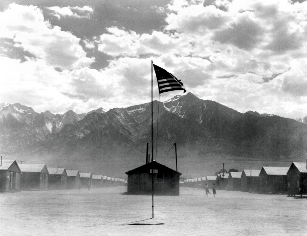 Manzanar Relocation Center, Dorothea Lange, 1942
