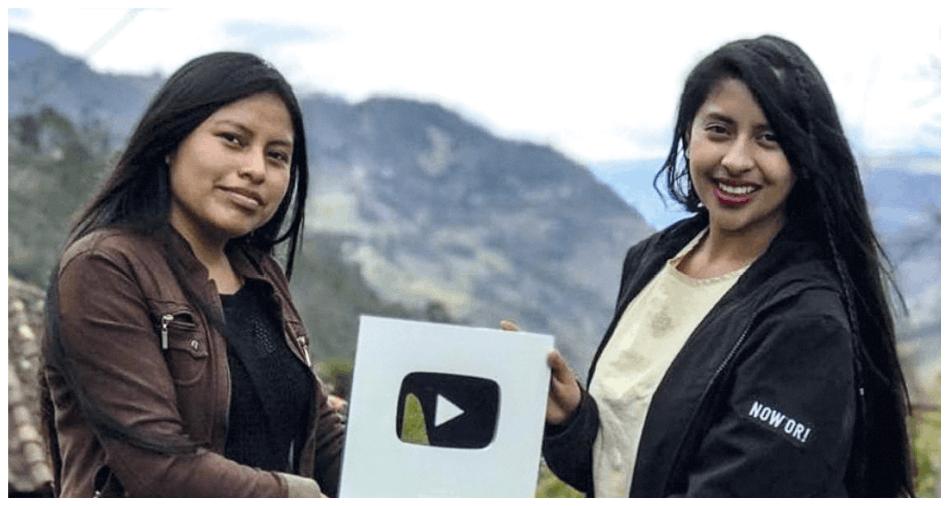 Nancy Risol, la primera indígena influencer que cuenta con más de un millón de seguidores