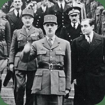 De Gaulle et Pierre Mendès France